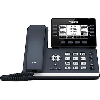 Wokex IP Telefon SIP-T53W VoIP-Telefon, schwarz