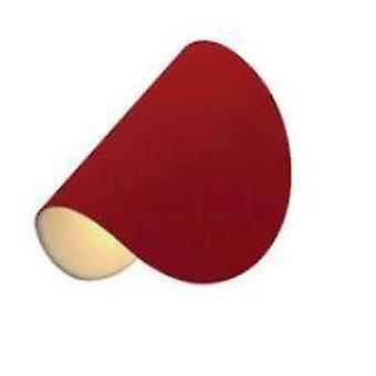 Moderni minimalistinen yöseinä lam (punainen)