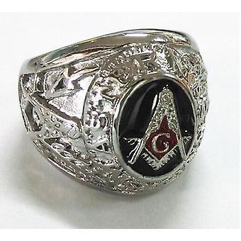Mistrz mason vintage pierścień masońskie