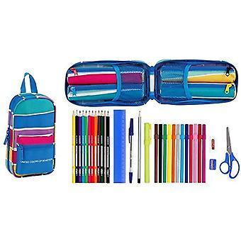Benetton 2018 Casual Backpack, 23 cm, 1.4 liters, Multicolor (Multicolor)