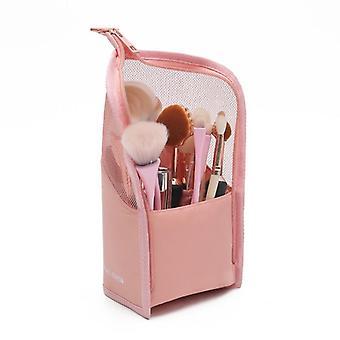 Kosmetisk taske, lynlås makeup taske