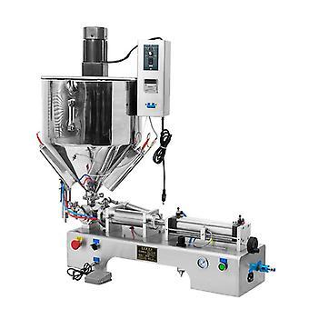 Machine horizontale de remplissage liquide de pâte d'acier inoxydable, beurre d'arachide, miel