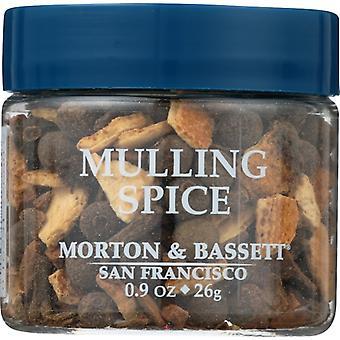 Morton & Bassett Seasoning Muling Spice, Case of 3 X 1.1 Oz