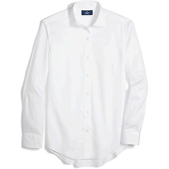 Brand - Buttoned Down Men's Classic-Fit Spread Collar Solid Non-Iron Dress Shirt