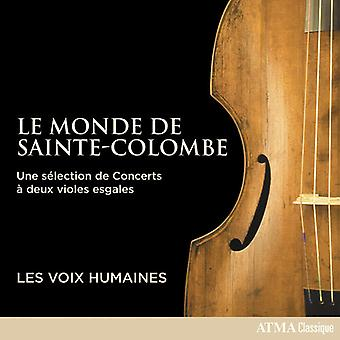 Monde De Sainte-Colombe [CD] USA import