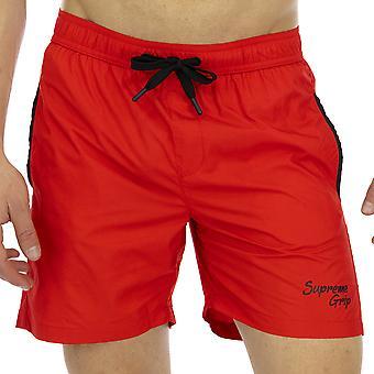 Supreme Grip Hombres Boxer Swimshorts Scrambler Multicolor