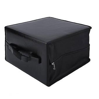 Diske Portable Cd Dvd Wallet Holder Bag Sag Album Organizer Media Storage Box (sort)