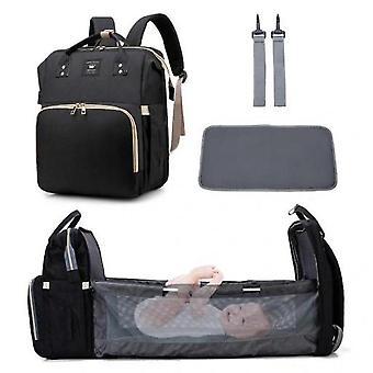 Travel Bassinet Pliable Lit bébé sac à dos portable