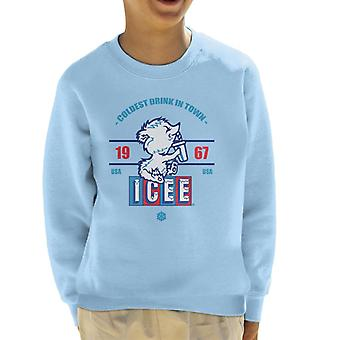 ICEE Coldest Drink In Town Since 1967 Kid's Sweatshirt