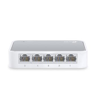 TP-Link TL-SF1005D 10/100 Mbps Ethernet-stik til stationære computere
