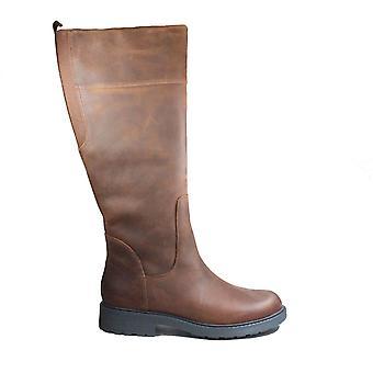 Clarks Orinoco2 Hej Tan Varm Foret Læder Kvinders Lange Ben Boots
