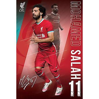 Liverpool FC Poster Salah 1