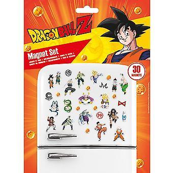 Dragon Ball Z Magnes na lodówkę (opakowanie 30 szt.)