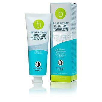 Whitening toothpaste Multifunctional Kokos Mint Beconfident (75 ml)