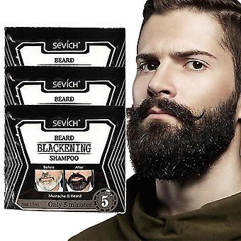 速い髪の黒髪のためのひげの毛のシャンプー