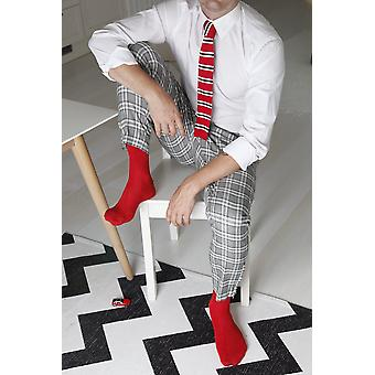 Menins Viskose Socken und Strickkrawatte