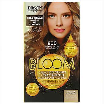 Permanente kleurstof Bloei Dikson Muster 800 Light Blonde