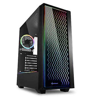 ATX セミタワー ボックス シャークーン RGB LIT 200