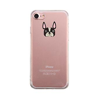 French Bulldog Transparent Phone Case Cute Clear Phonecase