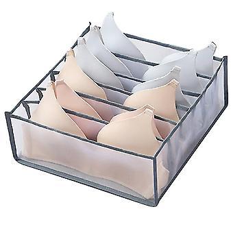 6 Siatkowe pudełka do szafy i szuflad do użytku domowego (białe)