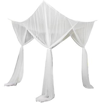 Swotgdoby 4 Corner Post Bed Canopy For Full/queen/king Size Bed