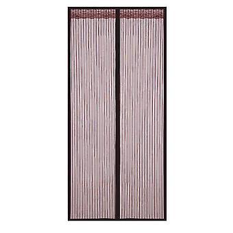 Abnehmbarer selbstklebender Fensterschirm Türvorhang Velcro Magnet (110 * 220cm)