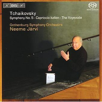 Orchestre symphonique de Göteborg - Tchaïkovski: Symphonie n° 5; Capriccio Italien; importer des USA Voïevoda [SACD]