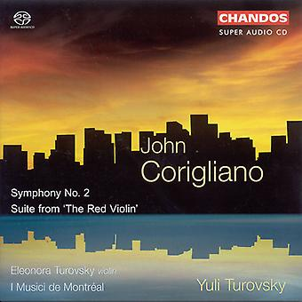 J. Corigliano - John Corigliano: Symfoni nr 2; Svit från 'Red Violin' [SACD] USA import