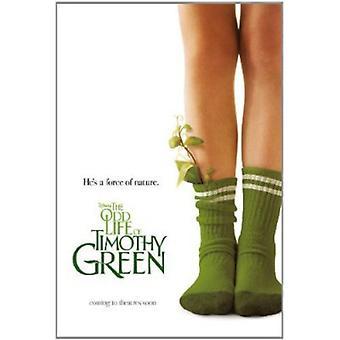 Udda liv av Timothy Green [DVD] USA import