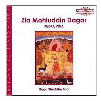 Z Dagar - Raga Shuddha Todi [CD] USA import