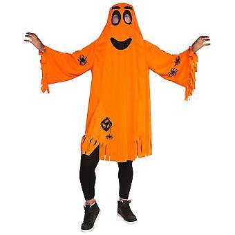 Pumpkin puku oranssi lapset kurpitsa ghost Halloween KInderkostüm 0-6 vuotta