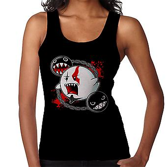 Ghost Of Sparta God Of War Mario Women's Vest