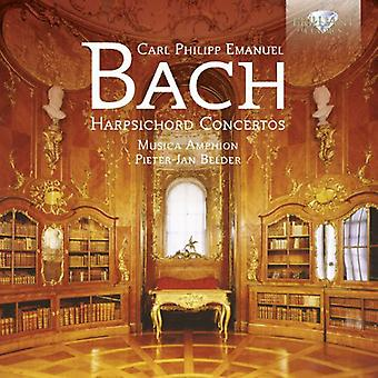 Musicaamphion/Pieter Jan Belder - C.P.E. Bach: concertos pour clavecin [CD] USA import