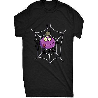 Kända gullig tecknad lila Spider