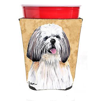 Carolines Treasures  SC9128RSC Shih Tzu Red Solo Cup Beverage Insulator Hugger