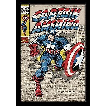 Capitão América - #109 Poster Poster Print by