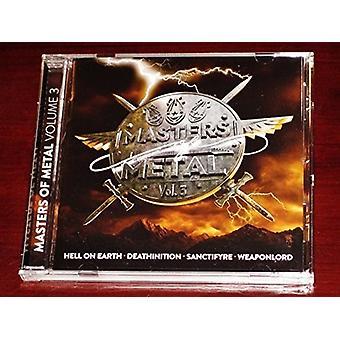 Various Artist - Masters of Metal: Vol. 3 [CD] USA import