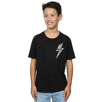 AC/DC Boys Small Lightning Bolt T-Shirt