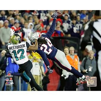 Stephon Gilmore 2017 AFC Championship Game Photo Print