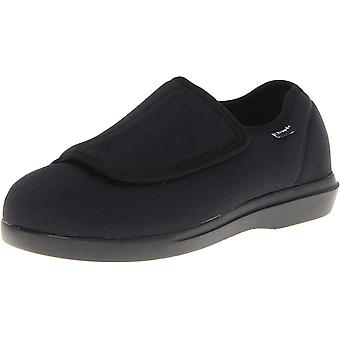 Propét Womens cush n foot Closed Toe Slip On Slippers