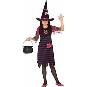 Trajes de los niños vestido de Halloween bruja de niñas para niñas