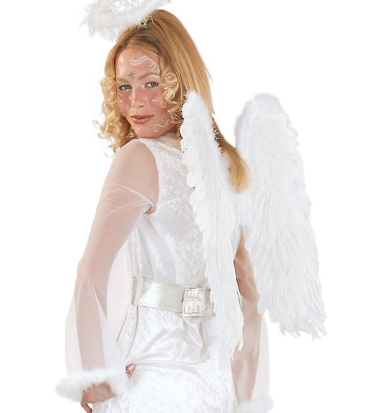 Angel wings white feather Angel costume accessory Christmas Angel