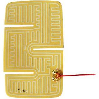Appareil de chauffage Thermo Polyester poids lourds aile miroir pad autocollant 24 Vdc, 24 V AC 20 W IP notation IPX4 (L x P) 235 x 144,5 mm