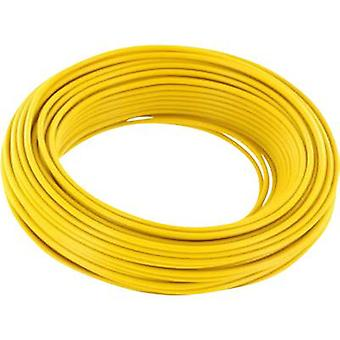 BELI-BECO L218/5 ge Strand 2 x 0.14 mm² Yellow 5 m