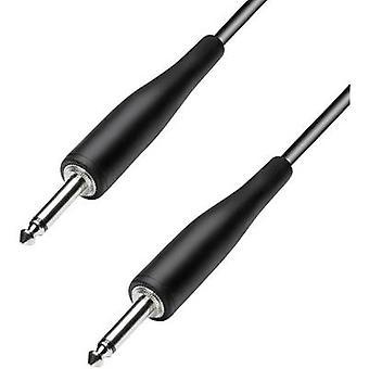 Paccs HIC23BK090SD Instruments Kaapeli [1x Pistoke 6,35 mm - 1x Pistoke 6,35 mm] 9,00 m Musta