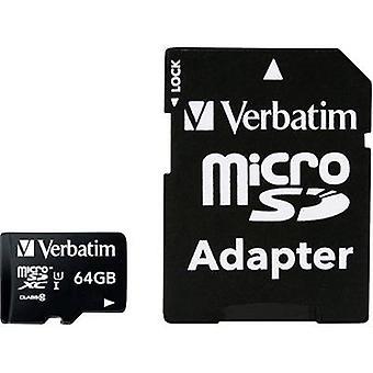 そのままマイクロ SDXC 64GB CL 10 ADAP microSDXC カード 64 GB クラス 10 を含む SD アダプター