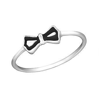 Bow - 925 Sterling Silver Plain Rings - W30992x