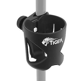 Tiger Clamp on Drink Holder for Music Stand, Mic Stand, Drum Kit - Cup