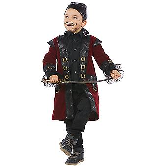 Piratenjunge Eddie mais amável fantasia menino pirata Corsair