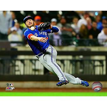 Josh Donaldson 2018 Action Photo Print